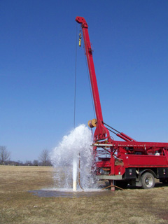 Well Drilling Ortonville MI: Well Pumps Oakland County | Mike LaLone Well Service - drill1